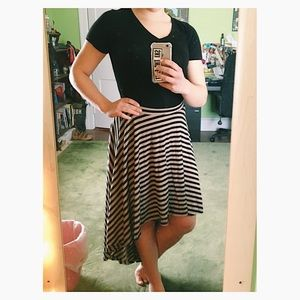 High to Low Maxi Skirt